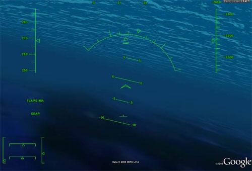 海底でフライトシミュレーター