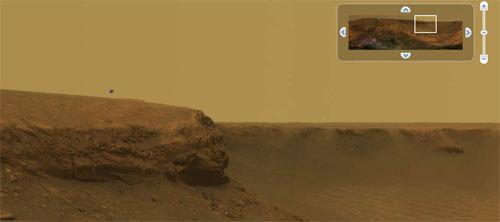 グーグル 火星
