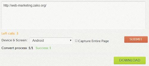 URLからサムネイル画像を取得