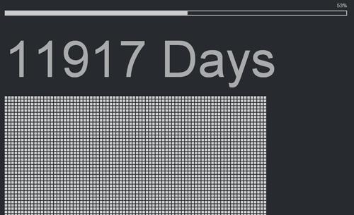 人生の残り日数