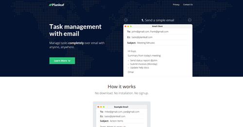 Task Management with Email