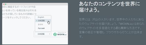 サイト多言語化支援ツール