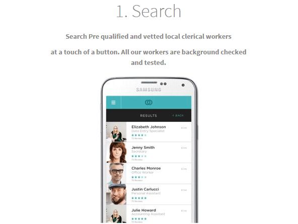 仕事を依頼する人を探す