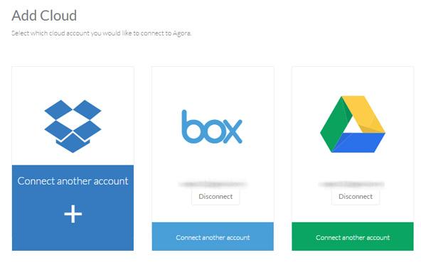 複数サービスで、それぞれ複数のアカウントを追加可能。