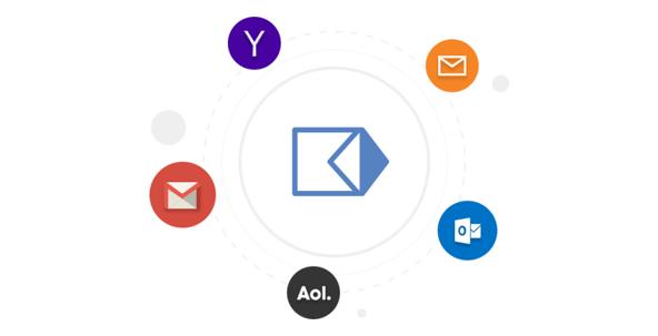 Gmail、Microsoftなど複数のメールサービスに対応。