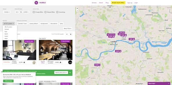 AirbnbのUIにそっくりではありますが、知らない土地でも大体のアクセスを確認しながら探せます。