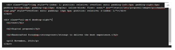 HTMLで編集することも可能です。