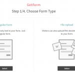 プログラムなしでお問い合わせフォームを作れる「Getform」